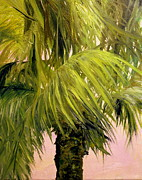 Graves Paintings - Palm VI by Lisa Graves