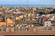 Red Roof Photo Originals - Palma de Mallorca by Alexandr Marynkin