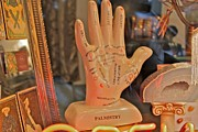 Palmistry Photo Posters - Palmistry Poster by Jerry Patterson
