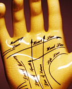 Palm Reading Posters - Palmistry Poster by Pasieka
