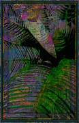 Intensity Posters - Palms Abstract Poster by Mindy Newman