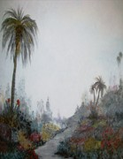 Rhonda Clapprood - Palms in a Garden 2