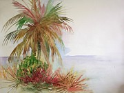 Richard Willows - Palms on beach II