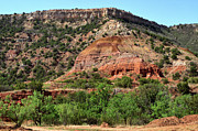Trujillo Prints - Palo Duro Canyon in Texas Print by Louise Heusinkveld