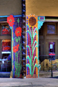 Storefront  Art - Palouse Cafe by David Patterson