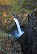 Desert Prints - Palouse Falls Print by Mike  Dawson