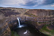 Falling Water Framed Prints - Palouse Falls Framed Print by Mike Reid
