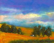 Palouse Wheat Fields Print by David Patterson