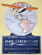 Pan American Framed Prints - Pan American Airways 1934 Framed Print by Granger