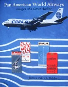 Pan Am Framed Prints - Pan American World Airways Framed Print by Lesley Giles