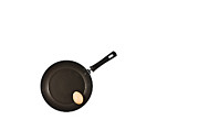 Household Posters - Pan with Egg Poster by Gert Lavsen