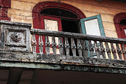 Viejo Prints - Panama City Balcony Print by John Rizzuto