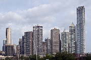 Panama City Framed Prints - Panama City skyline. Panama. Framed Print by Fernando Barozza