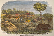 Culebra Photos - Panama: The Culebra, 1855 by Granger
