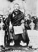 Clergy Photos - Panchen Lama Chos-kyi Nyi-ma 1883-1937 by Everett