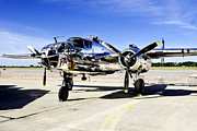 B25 Photographs Prints - Panchito Print by Greg Fortier