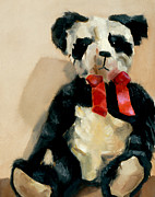 Panda Bear Paintings - Panda Bear by Tommervik