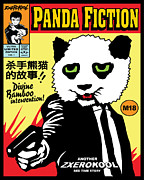 Evil Digital Art Originals - Panda Fiction by Zxerokool