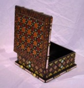 Jewelry Glass Art Originals - Pandoras Box by Robin Miklatek