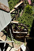 Old Mill Scenes Photos - Panning For Gold in Virginia City Nevada by LeeAnn McLaneGoetz McLaneGoetzStudioLLCcom
