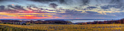 Traverse Bay Photos - Panorama from Old Mission Peninsula by Twenty Two North Gallery