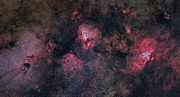 Messier 16 Prints - Panorama Near The Sagittarius Region Print by John Davis