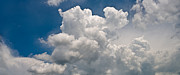 Cloud Posters - Panoramic Clouds Number 1 Poster by Steve Gadomski