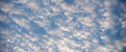 Cloud Art - Panoramic Clouds Number 3 by Steve Gadomski