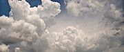 Panoramic Clouds Number 9 Print by Steve Gadomski