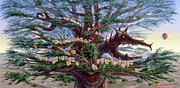 Lorn Tree Art - Panoramic Lorn Tree from Arboregal by Dumitru Sandru