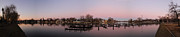 Menasha Framed Prints - Panoramic Menasha Framed Print by Joel Witmeyer