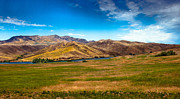 Landsacape Posters - Panoramic Range Land Poster by Robert Bales