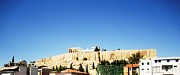 Neo-classical Posters - Panoramic View of Acropolis Parthenon in Greece Poster by John A Shiron