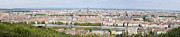 Lyon Prints - Panoramic View of City Print by Mikhail Lavrenov