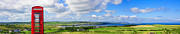 Antrim Posters - Panoramic view of Portballintrae Poster by Semmick Photo