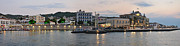 Houses Photos - Panoramic view of Spetses town by George Atsametakis