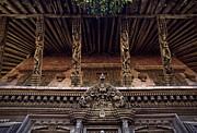 Panote Temple Struts - Nepal Print by Craig Lovell