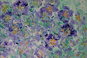 Wild Pansies Painting Posters - Pansy Fancy Painting  Poster by Don Wright