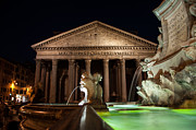 Pantheon Rome Print by Stavros Argyropoulos