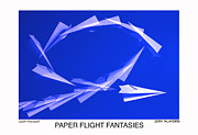Paper Flifght Fantasies - Loop The Loop  Print by Jerry Taliaferro