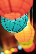 Paper Lantern Photos - Paper Lanterns by Allison Achauer