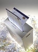 Machine Photos - Paper Shredder by Tek Image