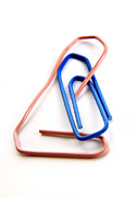 Clip Prints - Paperclips Print by Bernard Jaubert