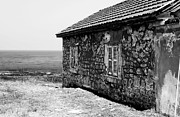 Old School House Photos - Paphos Window View by John Rizzuto