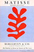 Mourlot Paintings - Papiers Decoupes by Henri Matisse