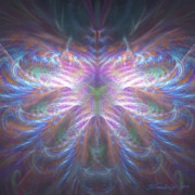 Fractal Geometry Digital Art Originals - Papillion by William Wright