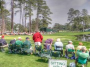 Augusta Photo Posters - Par Three - Redbud Poster by David Bearden