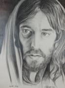 Jesus Drawings Originals - Parable by Rick Ahlvers