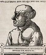 Paracelsus, Swiss Alchemist Print by Middle Temple Library