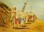 Native Americans Originals - Parade of the Chiefs by G Kay Cummings